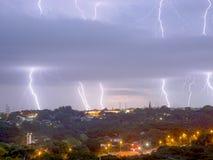 Tormenta eléctrica inminente Fotos de archivo libres de regalías
