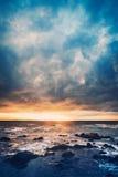 Tormenta en el mar Fotos de archivo