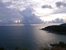 Tormenta en el mar foto de archivo