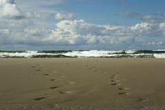 Tormenta en el mar Báltico Imagenes de archivo