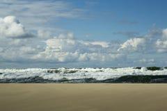 Tormenta en el mar Báltico Foto de archivo libre de regalías