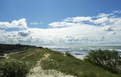 Tormenta en el mar Báltico Imágenes de archivo libres de regalías