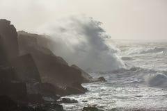 Tormenta en el océano Imágenes de archivo libres de regalías