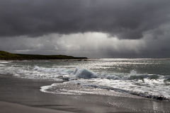 Tormenta en Falkland Islands Fotografía de archivo
