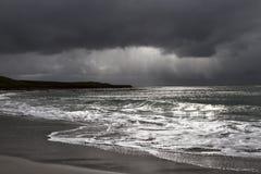 Tormenta en Falkland Islands Foto de archivo
