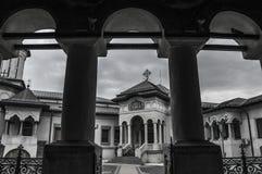 Tormenta en la catedral metropolitana Fotografía de archivo
