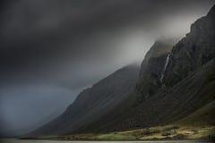 Tormenta en montañas Fotografía de archivo