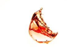 Tormenta en un vidrio de vino Foto de archivo