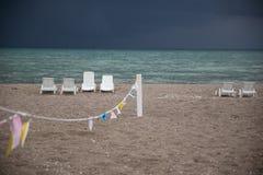 Tormenta entrante a finales del verano Fotos de archivo libres de regalías