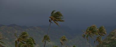 Tormenta hawaiana fotografía de archivo libre de regalías