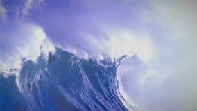 Tormenta, huracán, tifón, fondo metrajes