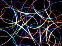 Tormenta ligera 5 del arco iris Foto de archivo libre de regalías