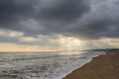 Tormenta sobre el mar Imagenes de archivo