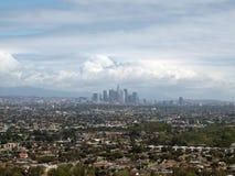 Tormentas del resorte en Los Ángeles Imagen de archivo libre de regalías