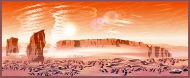 Tormentas marcianas del viento