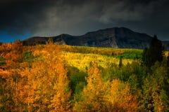 Tormentas sobre Marcellina Mountain Fotografía de archivo libre de regalías
