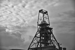 Tormentas sobre minas de lata Fotografía de archivo libre de regalías