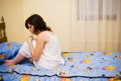 tormented женщина Стоковые Фото