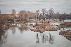 Tormes River in Salamanca stock photos