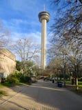 Torn av Americasna i San Antonio, Texas Arkivbilder