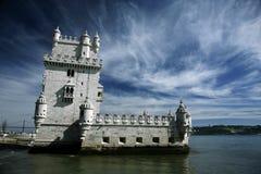 Torn av belem Royaltyfri Bild
