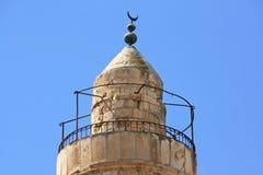 Torn av David i Jerusalem, Israel Arkivbilder