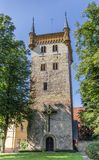 Torn av den Marien kyrkan i Warendorf Royaltyfri Bild