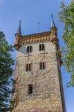 Torn av den Marien kyrkan i Warendorf Arkivbild