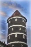 Torn av den PanemunÄ- slotten, Litauen Royaltyfria Bilder