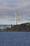 Torn av den Queensferry korsningen Fotografering för Bildbyråer