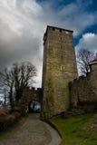 Torn av den Schaumburg slotten i Tyskland Royaltyfria Foton