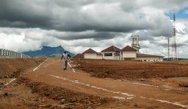 Torn av den Tanzania flygplatsen Fotografering för Bildbyråer