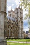 Torn av den Westminster abbotskloster i London Royaltyfria Foton
