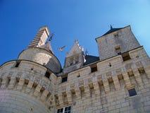 Torn av det medeltida slottet Royaltyfria Foton