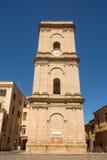 Torn av domkyrkan i staden av Lanciano i Abruzzo Italien Royaltyfri Foto