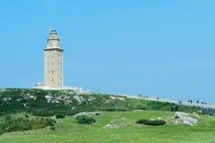 Torn av Hercules Royaltyfri Bild