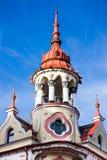 Torn av hotellet Astoria, Sztarill slott, Oradea Arkivbild