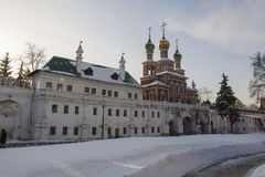 Torn av kloster Arkivbilder