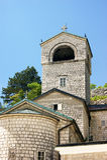 Torn av kloster av Cetinje Royaltyfria Foton