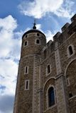 Torn av London Weathervane royaltyfria foton