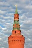 Torn av Moscow Kremlin. Arkivbilder