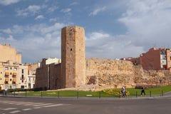 Torn av nunnor Tarragona Spanien Royaltyfria Foton