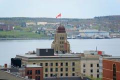 Torn av offentlig byggnad för herravälde, Halifax, NS, Kanada Royaltyfri Bild