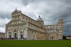 Torn av Pisa Europa Royaltyfria Bilder