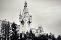 Torn av slotten av kultur arkivfoton