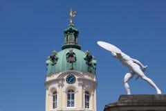 Torn av slotten Charlottenburg Royaltyfri Bild