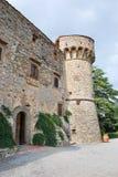 Torn av slotten av Meleto Royaltyfri Fotografi