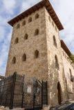 Torn av slotten räkningarna Cervellon Anna Valencia Spain Royaltyfria Bilder