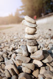 Torn av stenar Arkivbilder