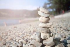 Torn av stenar Arkivbild